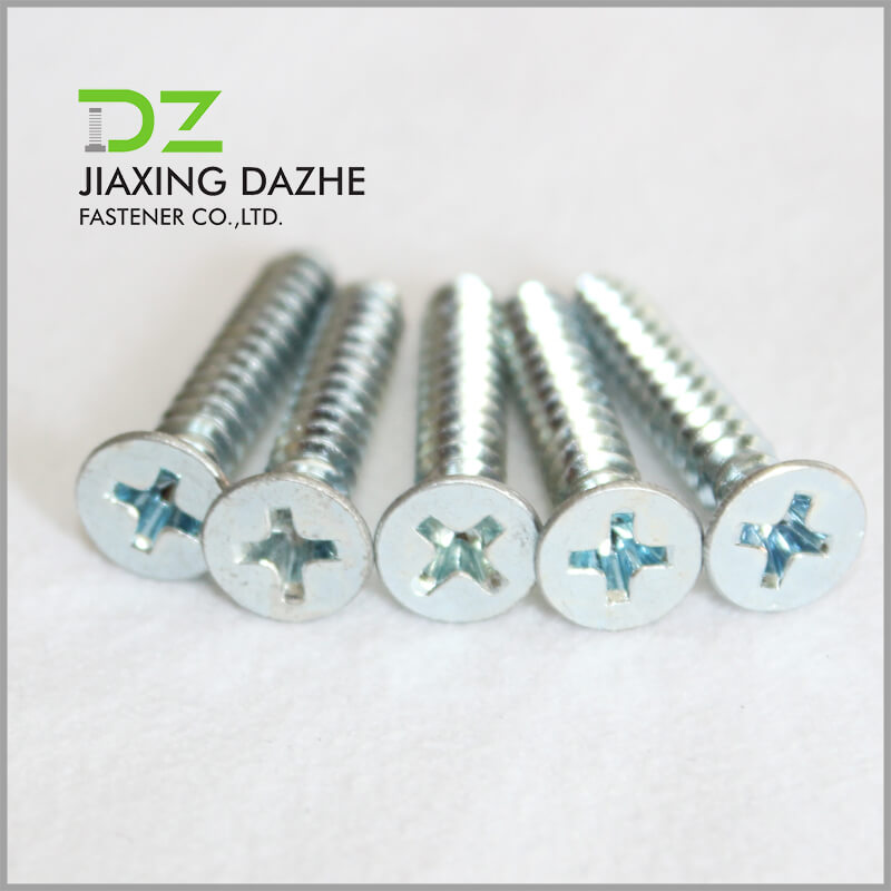 Philips Cross Countersunk Head Self Tapping Screw