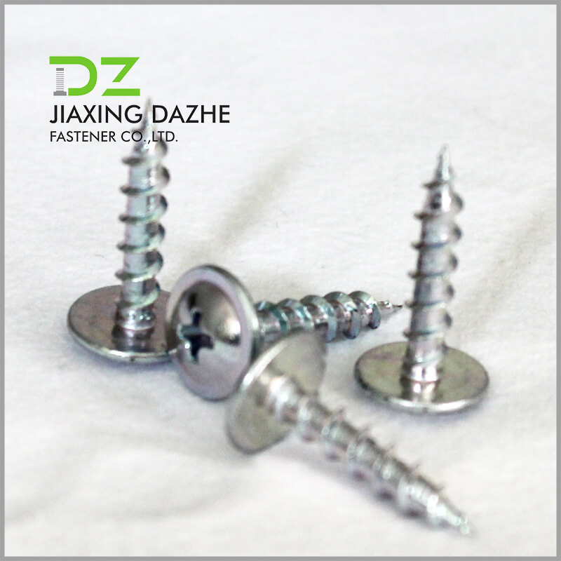 Wafer Head Cross Recessed Self Tapping Screw